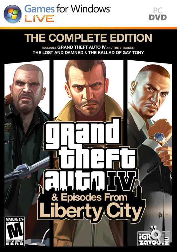Grand Theft Auto IV: The Complete Edition / ГТА 4 (GTA IV): Полное издание (Grand Theft Auto IV + Grand Theft Auto: Episodes from Liberty City [Grand Theft Auto IV: The Lost and Damned + Grand Theft Auto: The Ballad of Gay Tony]