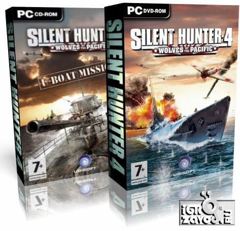 Дилогия Silent Hunter 4 (Сайлент Хантер 4): Wolves of the Pacific + U-Boat Missions