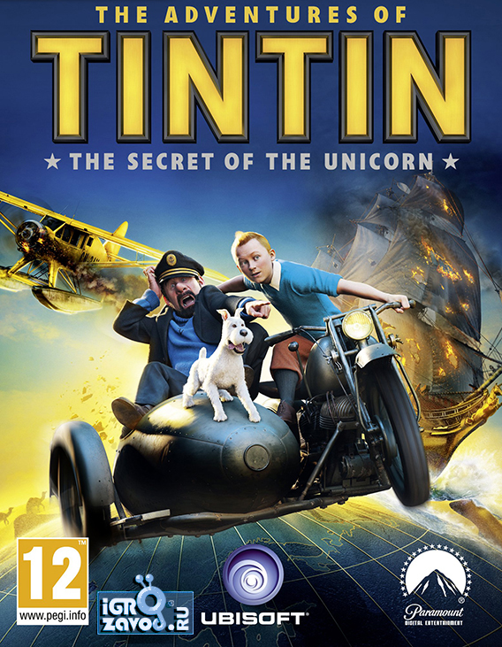 The Adventures of Tintin: Secret of the Unicorn / Приключения Тинтина: Тайна «Единорога»