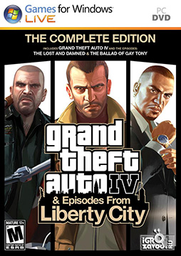 Grand Theft Auto IV: The Complete Edition / ГТА 4 (GTA IV): Полное издание (Grand Theft Auto IV + Grand Theft Auto: Episodes from Liberty City [Grand Theft Auto IV: The Lost and Damned + Grand Theft Auto: The Ballad of Gay Tony])